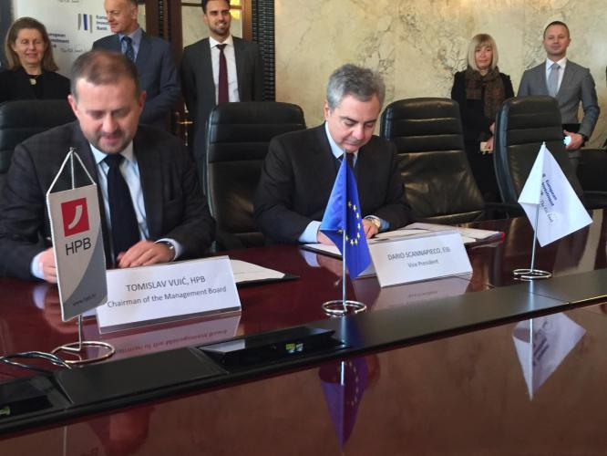 EIB supports four Croatian banks on small projects with long-lasting impact